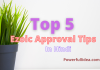 Top 5 Ezoic Approval Tips